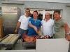 Erich Prankl, Kurt Harm, Harald Dorner, Reinhard Fitz